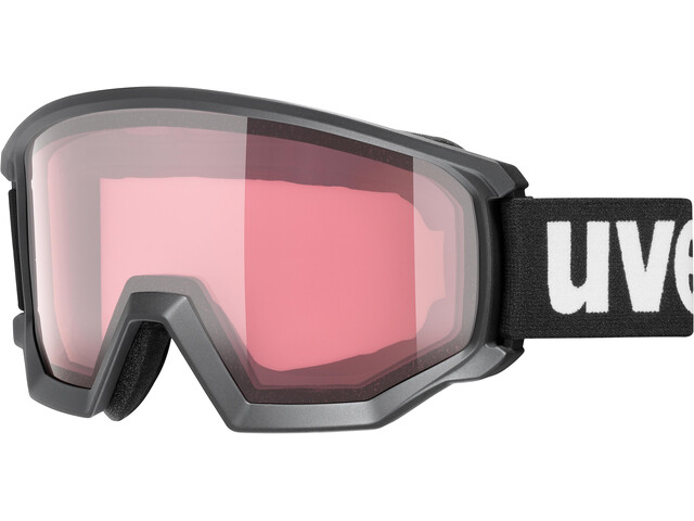 UVEX Athletic V Gafas, black mat/variomatic